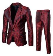 Slim men's suit