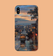 Silicone printing phone case