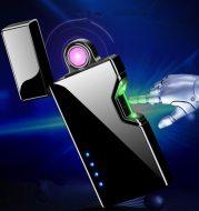 Creative Infrared Sensor Switch USB Charging Rotating Cigarette Lighter