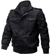 Cotton casual loose work jacket
