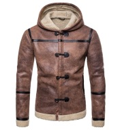 European and American trend leather clothing