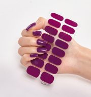 Nailart Sticker Pure Solid Color Self Adhesive Nail Sticker Nail Sticker set Nail Accesoires Nail Strips Full Beauty Adesivos