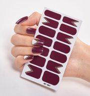 Solid Colors And Creative Nail Art Creative Women Salon Nail Decoration Fashion Nail Polish Nails Sticker Designer Nail Strips