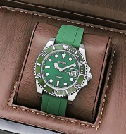 Green Water Ghost diving waterproof authentic goods counter men''s watch wholesale foreign trade live network red for high-quality customized