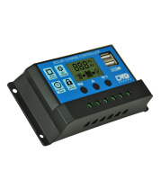 Solar LCD charge and discharge controller