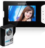 Shanyi Shida practical 7-inch high-definition LCD night vision waterproof adjustable angle video doorbell