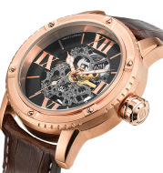 Hollow carved automatic mechanical men's watch