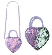 Cute Heart Shape Girls Kids Purse Handbag