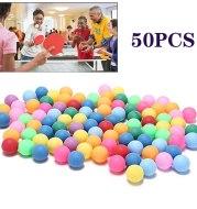Colored Pong Balls 40mm Entertainment Table Tennis Balls 3 Star Abs Plastic Ping Pong Balls Training Balls d1