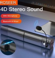 Small Speaker Subwoofer USB with Microphone Bluetooth Wired Universal