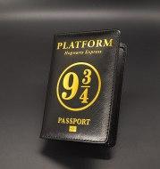 Harry Potter Peripheral Multi Card Set Travel Passport Clip
