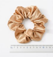 Satin Cloth Large Intestine Circle Hair Tie Set Solid Color