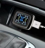 Tire Pressure Monitoring System Sensors Cigarette Lighter USB port Auto Security Alarm Systems Tire Pressure