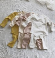 Infant Autumn Clothes Long Trousers Home Service Cotton Suit