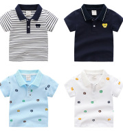 Cartoon Children's Shirt Short Sleeve POLO Shirt