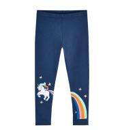 Children's Cotton Children's Leggings Girls Spring Embroidered Trousers