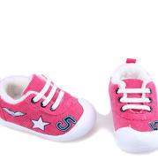 Infant Plus Velvet Thick Warm Cotton Shoes