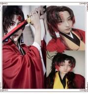 Demon Slayer Blade cos Ji Guoyuanyi Cosplay Wig
