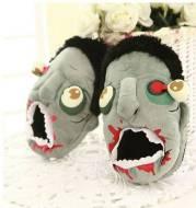 The Walking Dead Halloween Funny Zombie Slippers