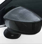 Angkesaila Carbon Fiber Mirror Cover Shell Decorative Bright Strip