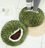Lovely Seaweed Green Plush Warm Feet Cover Big Shoes
