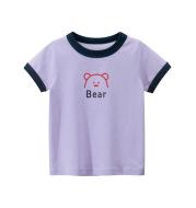 Girls' Short-sleeved T-shirt Children's Clothing