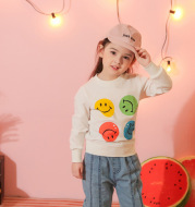 Baby Clothes Girls Smile Casual Sweater