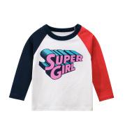 Children's Wear Autumn Children's Long Sleeve T-Shirt Girls' Clothes
