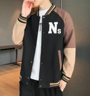 Men's Trendy Jacket Coat Baseball Uniform