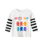 Children's Spring Clothes Girls' Long Sleeve T-Shirt Baby Clothes