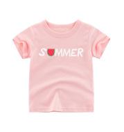 Children's Summer Children's Short-Sleeved T-Shirt