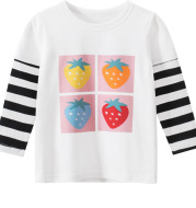Spring New Children's T-Shirt Baby Clothes Girl's T-Shirt