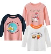 Girls Korean Long Sleeve T-shirt Baby Clothes