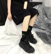 Fashion Creative Printing Skateboard Couple Socks