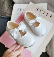 Baby Girl Cute Bow Princess Shoes Small Leather Shoes
