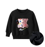 Children's Wear New Children's Sweater Plush Baby Girl's Clothes
