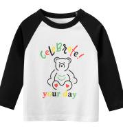 Spring Girls' T-Shirt Long Sleeve T-Shirt Baby Clothes
