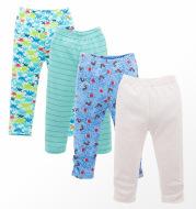 Spring Baby Leggings 4 Piece Pajamas