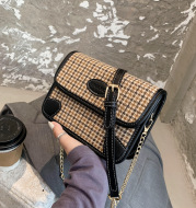 Women's Bags, Western Style Messenger Bag, Popular One-Shoulder Small Square Bag