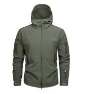 Jacket Male Digital Camouflage Fleece Female Waterproof Breathable Mountaineering Suit