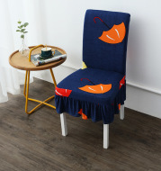 Chair Cover Modern Simple Universal Skirt Elastic Chair Cover