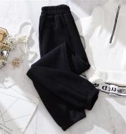 New Style Plus Velvet Loose Casual Pants Harlan Beam Foot Guard Pants