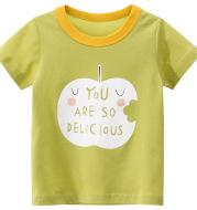 Summer New Children's Short-sleeved T-shirt