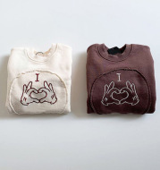 Cute Long-sleeved Crawler Sweater for Men and Women Baby Romper