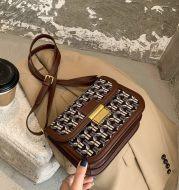 Fashion Messenger Bag One Shoulder Small Square Bag