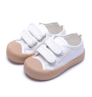 Soft Sole Velcro Canvas Sneakers Non-slip Wearable Casual Shoes Trend