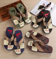 Flip-flops Men's Non-slip Beach Sandals And Slippers Plus Size Slippers For Men