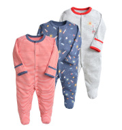 Newborn Baby Wrapped Foot Siamese Clothes