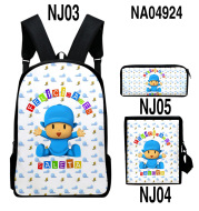 Digital Color Printing Bag Trendy Backpack Set