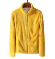 Men's And Women's Sports Warm Top Plush And Thickened Coat
